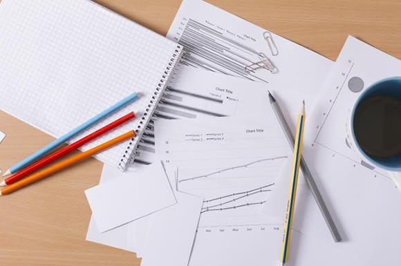 筆記用具たち